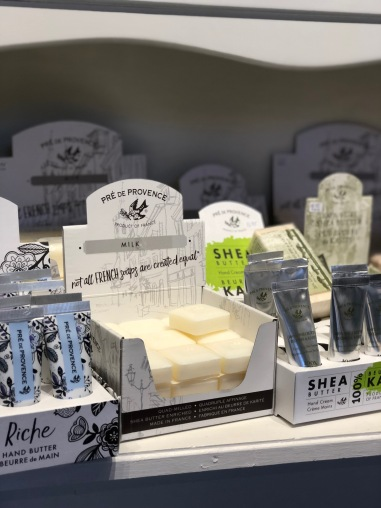 The milk soap has the loveliest smell!